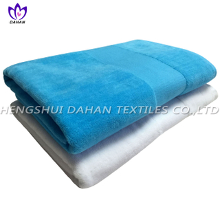 100%cotton plain colour cut pile bath towel. 7021