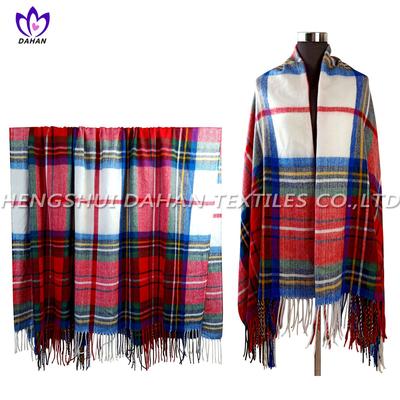 100%acrylic tassels scarf, blanket. BK20