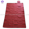Picnic blanket waterproof picnic mat with yarn dyed.PM09