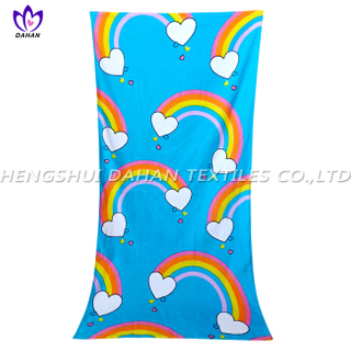 LL98 100%cotton reactive printing beach towel