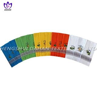 CYE01~05 100%cotton embroidery tea towel,kitchen towel.