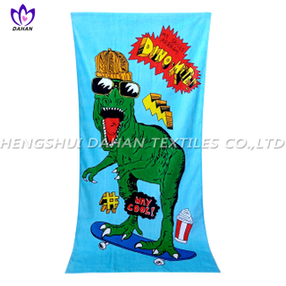 LL99 100%cotton reactive printing beach towel