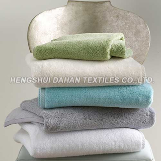 100%cotton solid color face towel bath towel se BT05