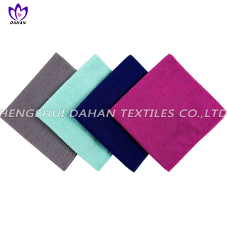MC96 100%polyester plain colour microfiber towel