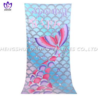 LL92 100%cotton reactive printing beach towel