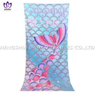 LL92 100%cotton reactive printing beach towel