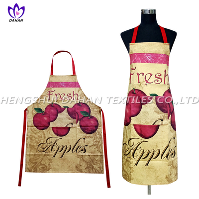 AGP77 100%cotton twill printing waterproof apron.
