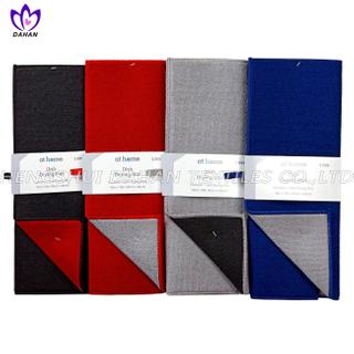 15771 100%polyester plain colour dish drying mat.
