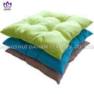 BC11 100%polyester plain colour oxford cloth chair cushion.