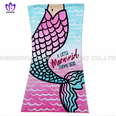 LL48 100%cotton reactive printing beach towel