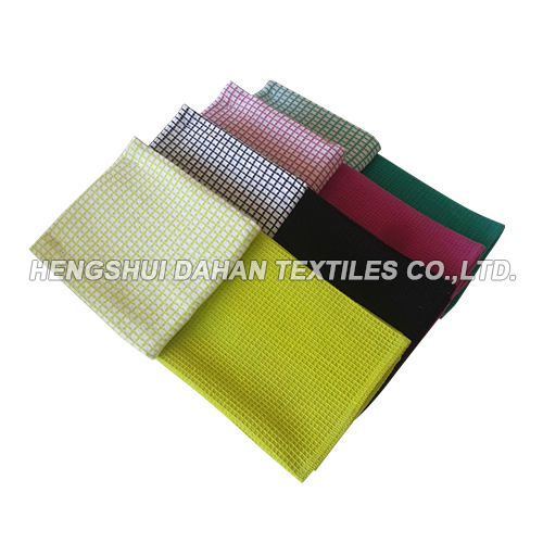 100%cotton yarn dyed waffle tea towel ,kitchen towel DY48