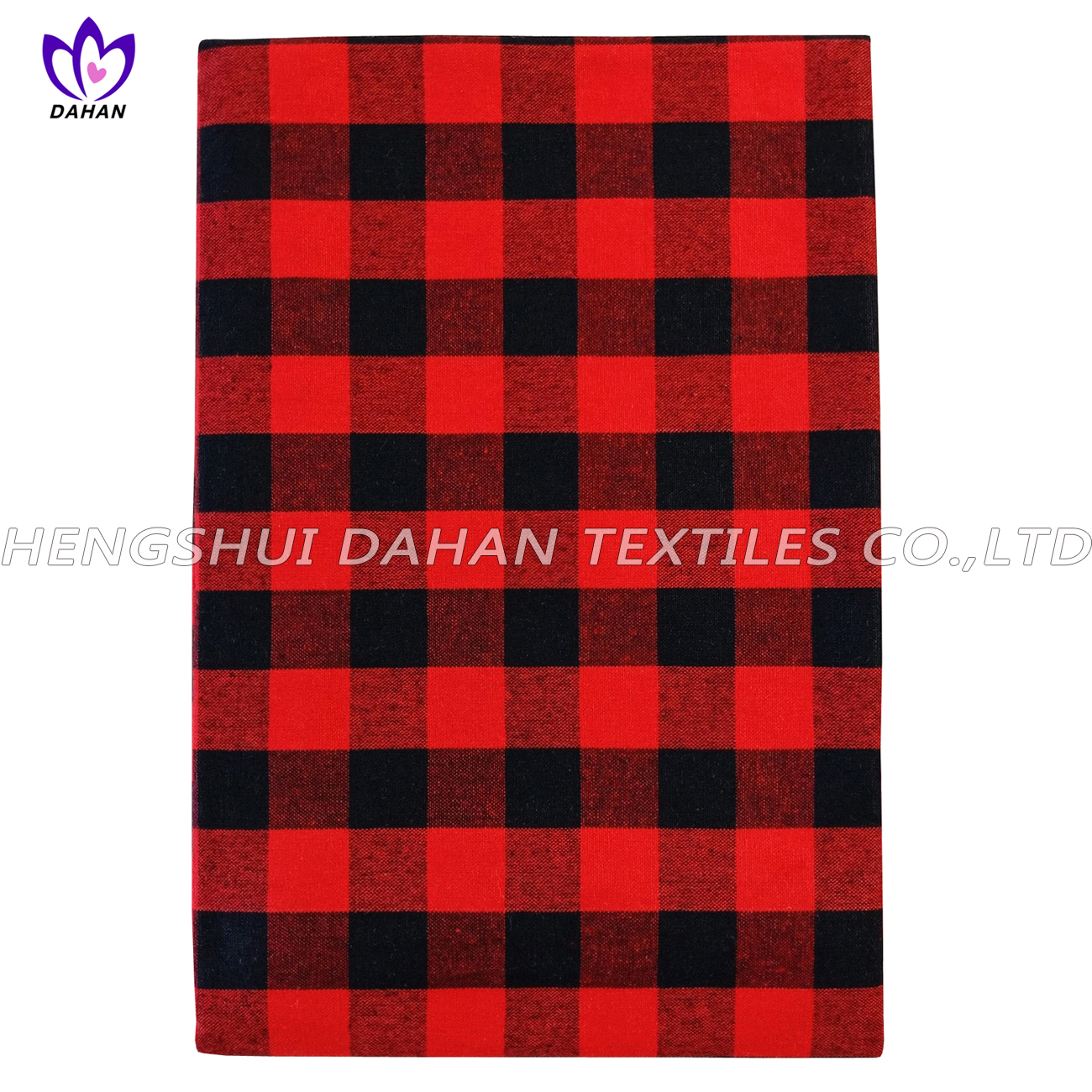 TP13~16 100%cotton grid table cloth-oblong.