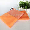MS12 100%polyester pure color microfiber suede towel.