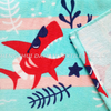 LL46 100%cotton reactive printing beach towel