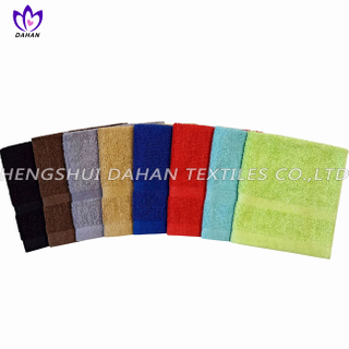 420CR 100%cotton plain colour kitchen towel.