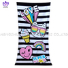 LL94 100%cotton reactive printing beach towel