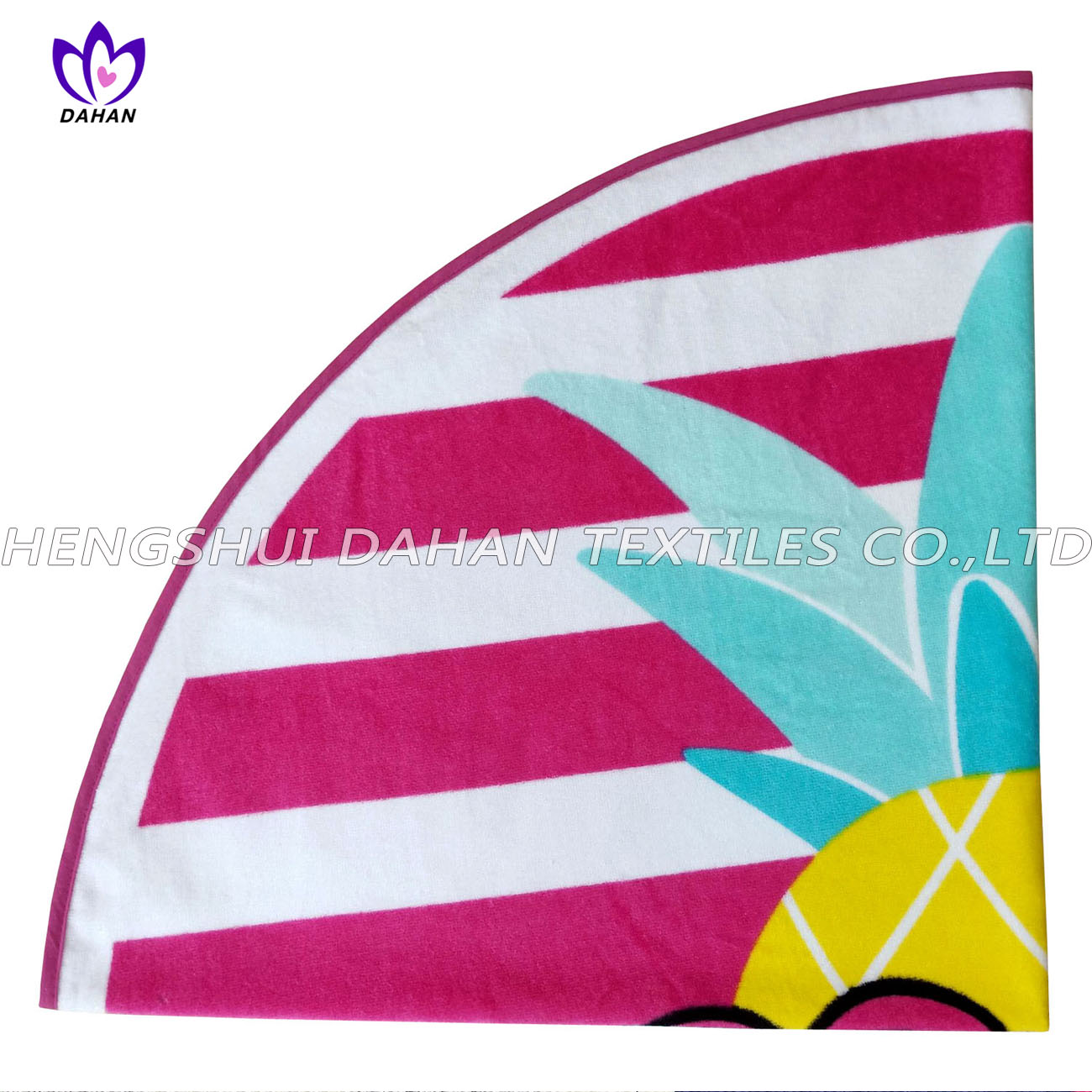 LL71 100%cotton reactive printing beach towel