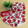 100% Cotton Flower Printing Cutting Velvet Towel CT11