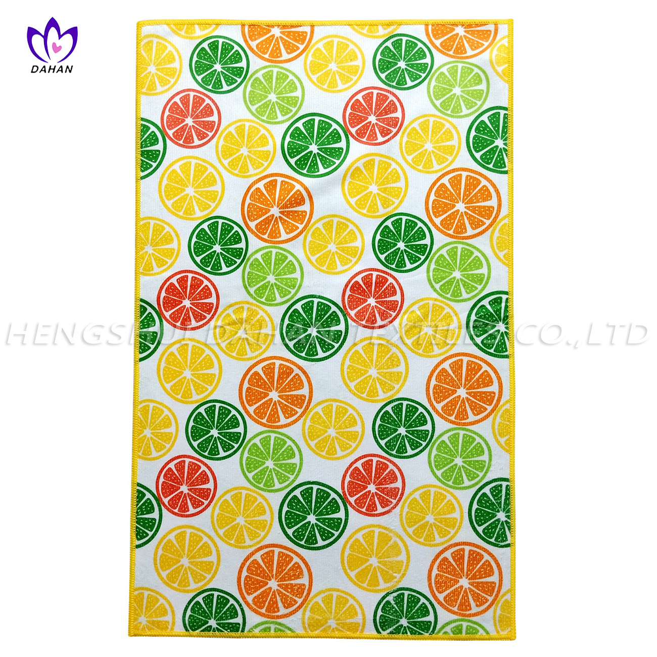 MC122 Printing microfiber kitchen towel.