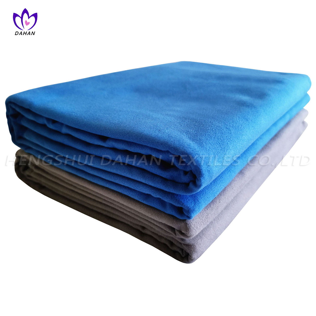 MS38 Solid color microfiber suede towel.