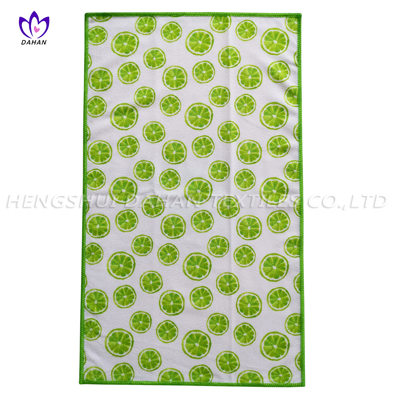 MC117~3 Printing microfiber kitchen towel.