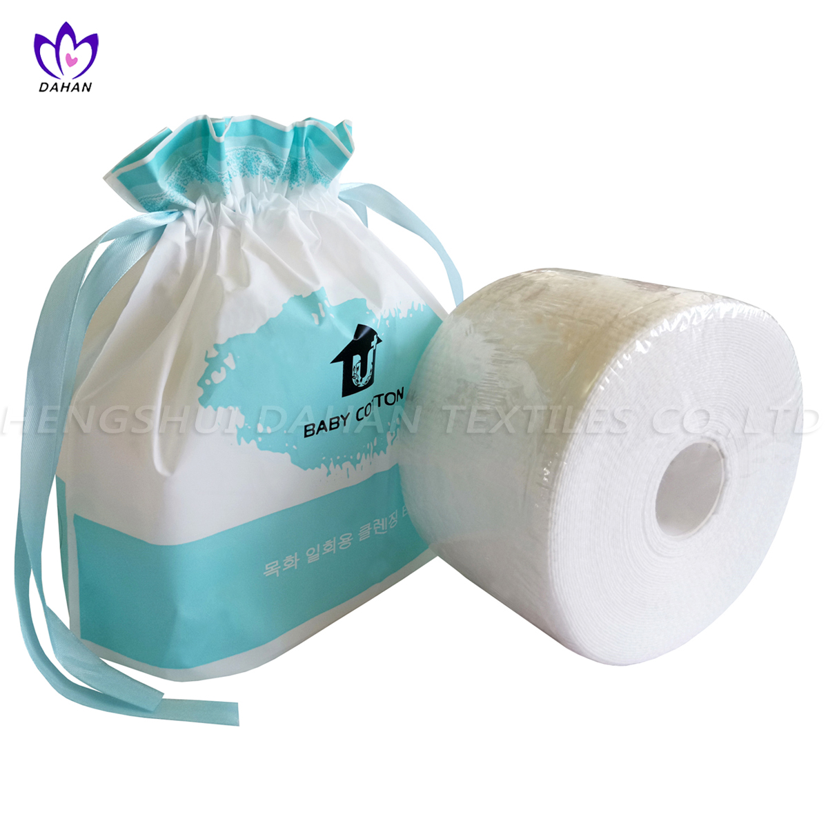 LT01 Disposalble non-woven washcloth.